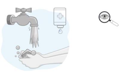Desinfectarse las manos