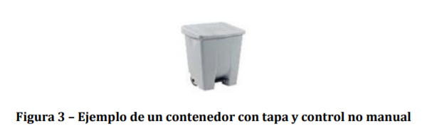 ejemplo de contenedor de control no manual