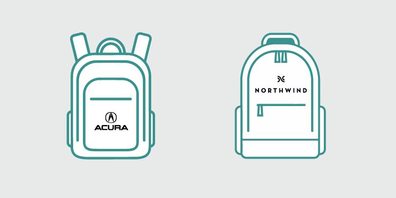 Crear mochilas publicitarias