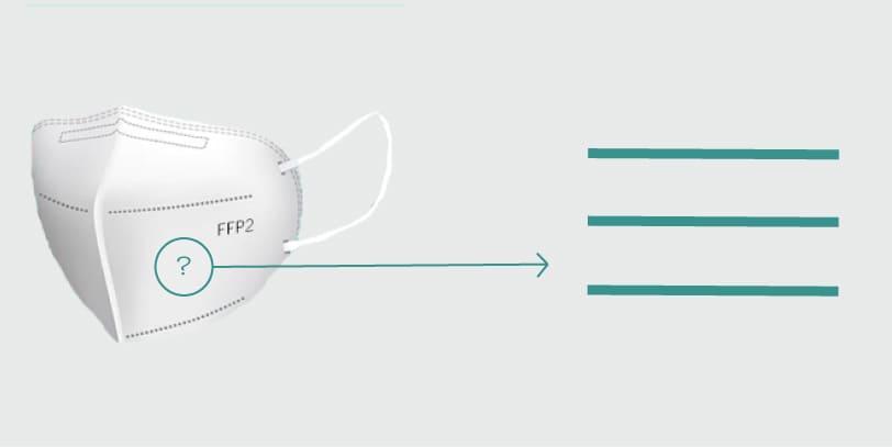 Cómo comprobar si una mascarilla FFP2 está homologada