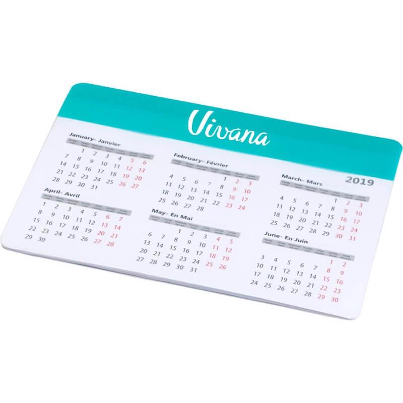 Alfombrillas de raton con calendario personalizadas baratas