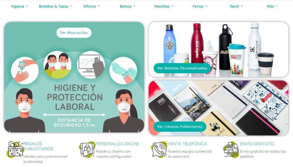 Nueva home page de Moloon