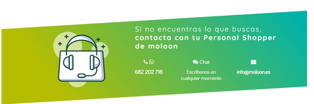 Servicio de atencion al cliente de Moloon